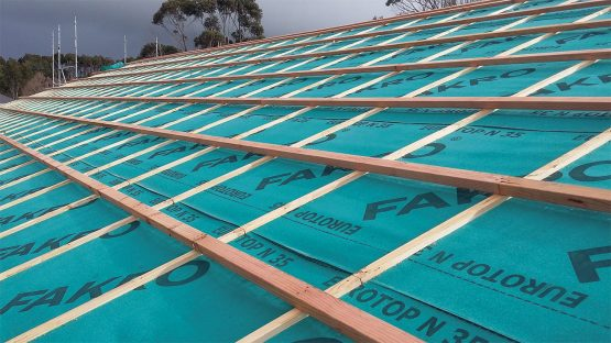 timber frame roof counter batten