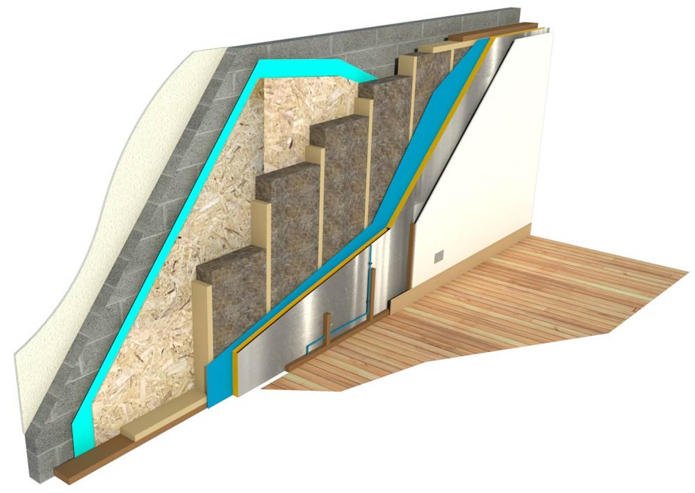 timber frame houses wall insulation